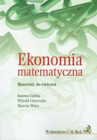Ekonomia matematyczna - Joanna - okładka książki