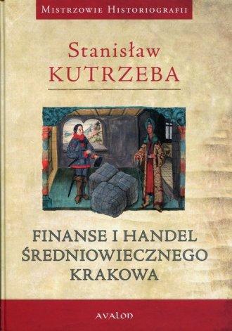 Finanse i handel średniowiecznego - okładka książki