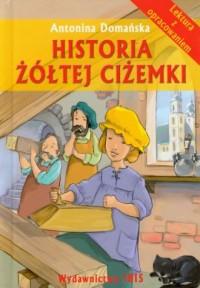 Historia żółtej ciżemki. Lektura. - okładka podręcznika