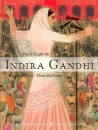 Indira Gandhi - Paola Capriolo - okładka książki