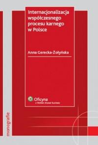 Internacjonalizacja współczesnego - okładka książki