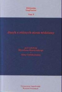 Język z różnych stron widziany - okładka książki