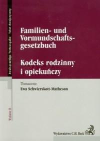 Kodeks rodzinny i opiekuńczy  Familien - okładka książki