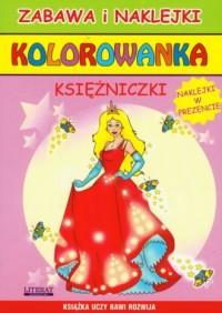 Kolorowanka. Księżniczki - Wydawnictwo - okładka książki
