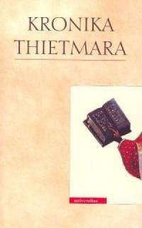 Kronika Thietmara - Wydawnictwo - okładka książki