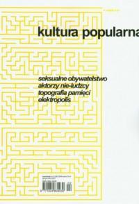 Kultura Popularna nr 2 (24)2009 - okładka książki