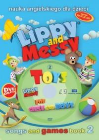 Lippy and messy cz. 2. Nauka angielskiego - okładka podręcznika