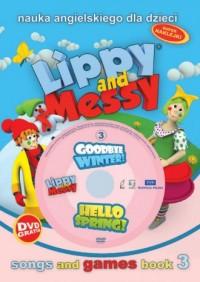 Lippy and messy cz. 3. Nauka angielskiego - okładka podręcznika