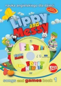 Lippy nad Messy fruit and animals. - okładka podręcznika
