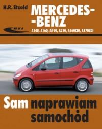Mercedes-Benz A140, A160, A190, - okładka książki