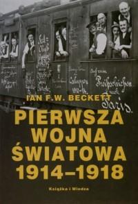 Pierwsza wojna światowa 1914-1918 - okładka książki