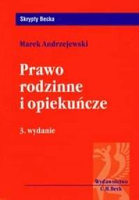 Prawo rodzinne i opiekuńcze - Marek - okładka książki