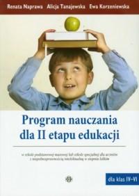 Program nauczania II etapu edukacji - okładka książki