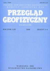 Przegląd Geofizyczny. Kwartalnik. - okładka książki