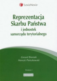 Reprezentacja Skarbu Państwa i - okładka książki