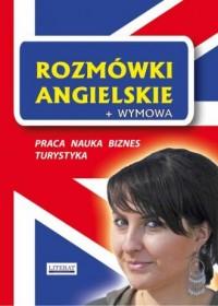 Rozmówki angielskie + wymowa - - okładka książki