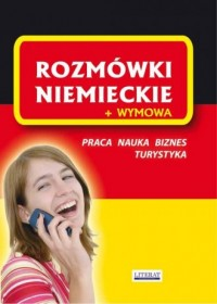Rozmówki niemieckie + wymowa - - okładka książki