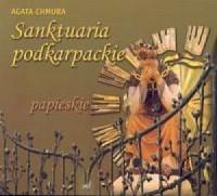 Sanktuaria podkarpackie papieskie - okładka książki
