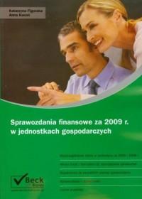 Sprawozdania finansowe za 2009 - okładka książki