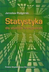 Statystyka dla studiów licencjackich - okładka książki
