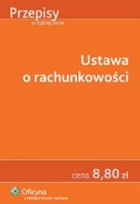 Ustawa o rachunkowości - Wydawnictwo - okładka książki