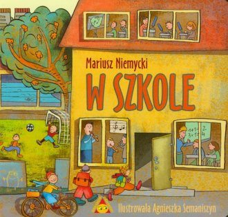 W szkole - okładka książki
