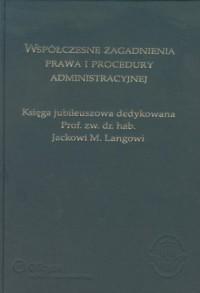 Współczesne zagadnienia prawa i - okładka książki