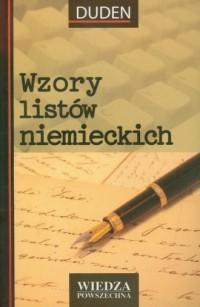 Wzory listów niemieckich - Wydawnictwo - okładka podręcznika