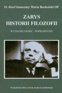 Zarys historii filozofii - o. Józef - okładka książki