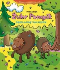 Żubr Pompik. Zapach wiosny i inne - okładka książki