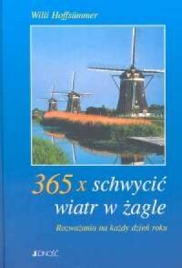 365 x schwycić wiatr w żagle - okładka książki