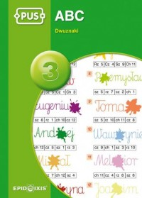 ABC cz. 3. Dwuznaki - okładka podręcznika