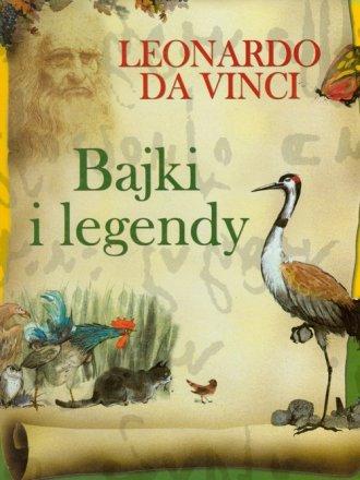 Bajki i legendy Leonardo Da Vinci - okładka książki