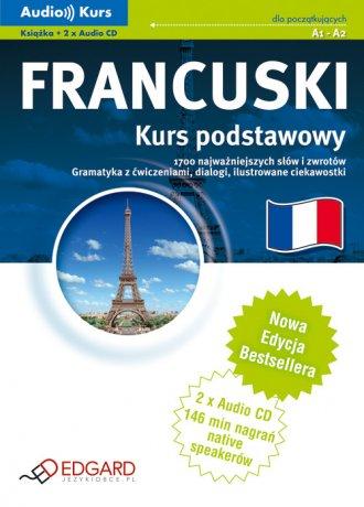 Francuski. Kurs podstawowy (+ CD) - okładka podręcznika