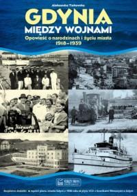 Gdynia między wojnami - okładka książki