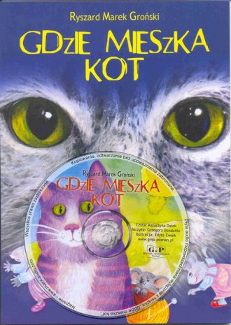 Gdzie mieszka kot (+ CD) - okładka książki