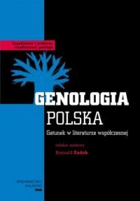 Genologia Polska. Gatunek w literaturze - okładka książki