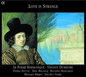 Love is strange, musique anglaise - okładka płyty