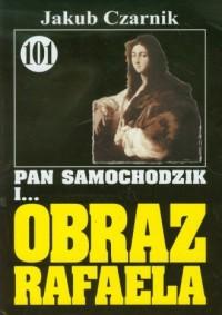 Pan Samochodzik i... obraz Rafaela - okładka książki