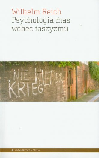 Psychologia mas wobec faszyzmu - okładka książki