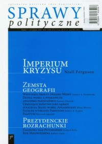 Sprawy polityczne 1/2009 - okładka książki