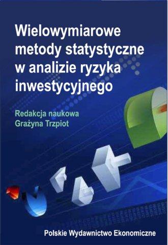 Wielowymiarowe metody statystyczne - okładka książki