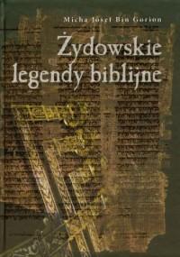 Żydowskie legendy biblijne - okładka książki