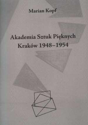 Akademia Sztuk Pięknych Kraków - okładka książki