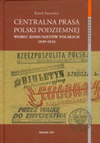 Centralna prasa Polski Podziemnej - okładka książki