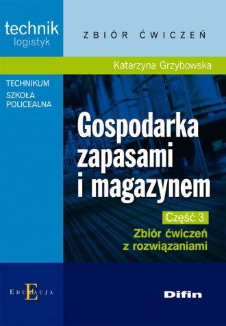 Gospodarka zapasami i magazynem - okładka podręcznika