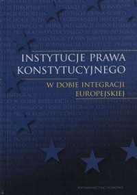 Instytucje prawa konstytucyjnego - okładka książki