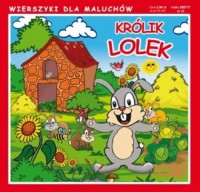 Królik Lolek - okładka książki