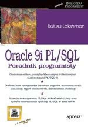 Oracle9i. PL/SQL - okładka książki
