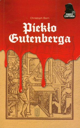 Piekło Gutenberga - okładka książki